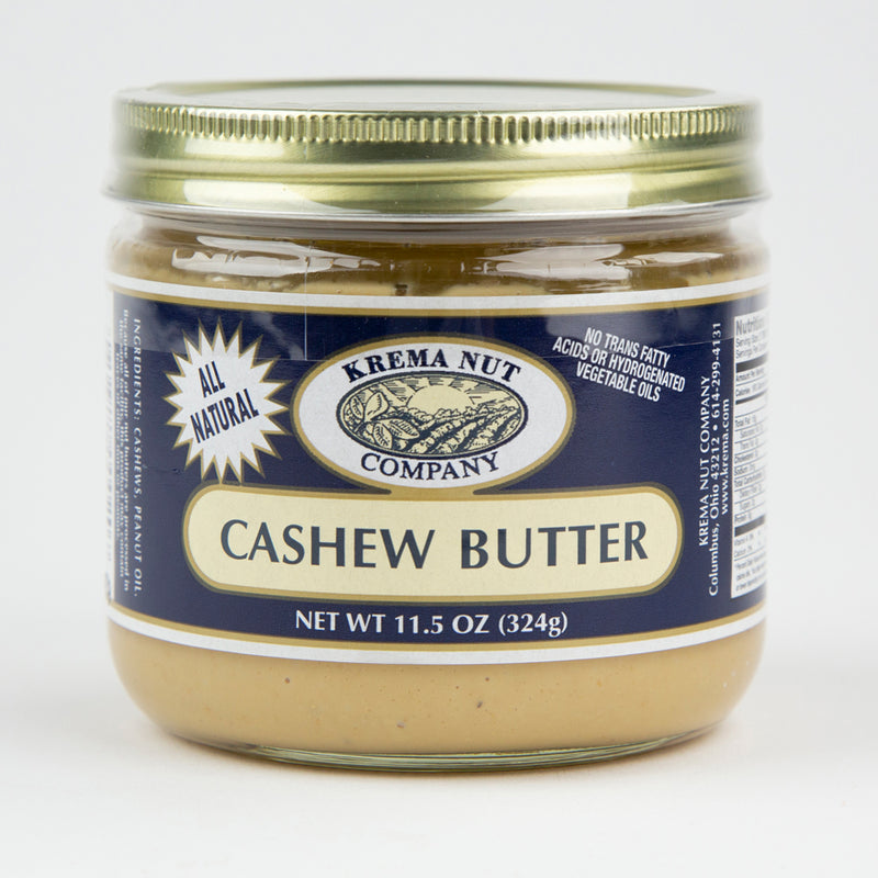Cashew Butter 11.5 oz. Jar