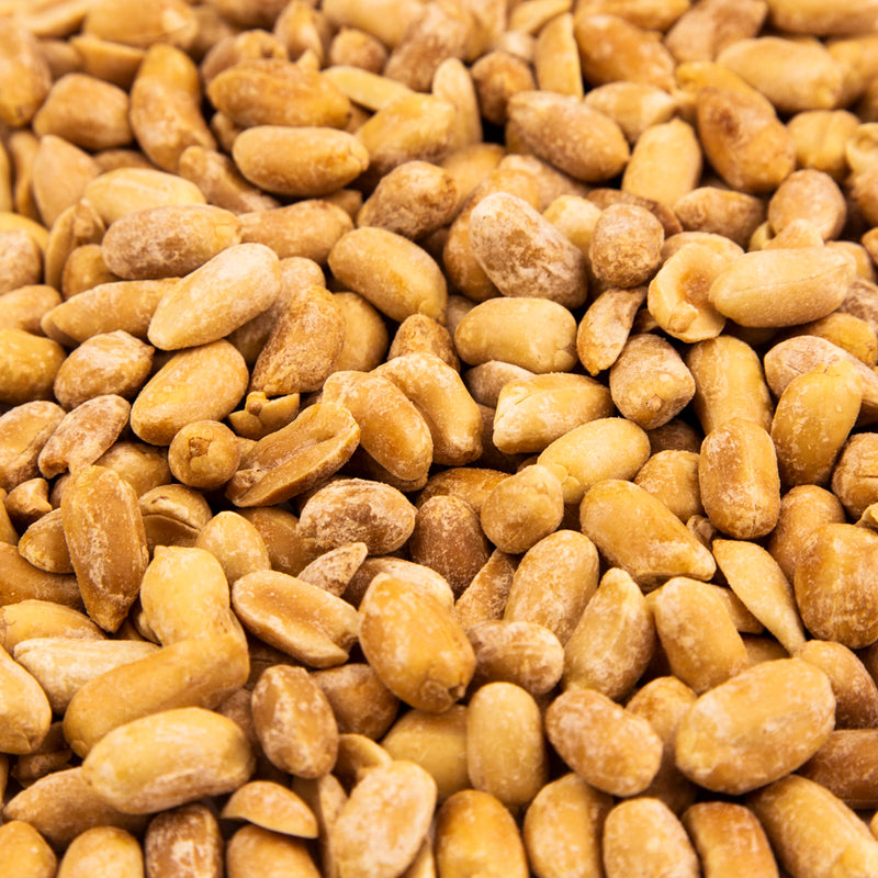 Dry Roasted Blanched Peanuts, Roasted & Salted 14 oz. Bag