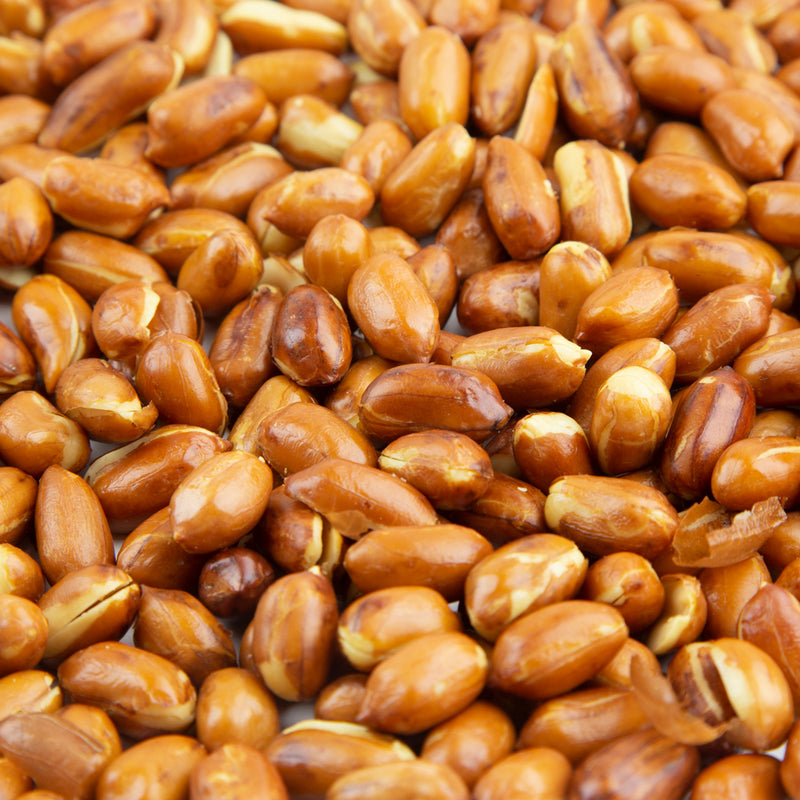 Redskin Peanuts Roasted, No Salt - 10 LB. Case