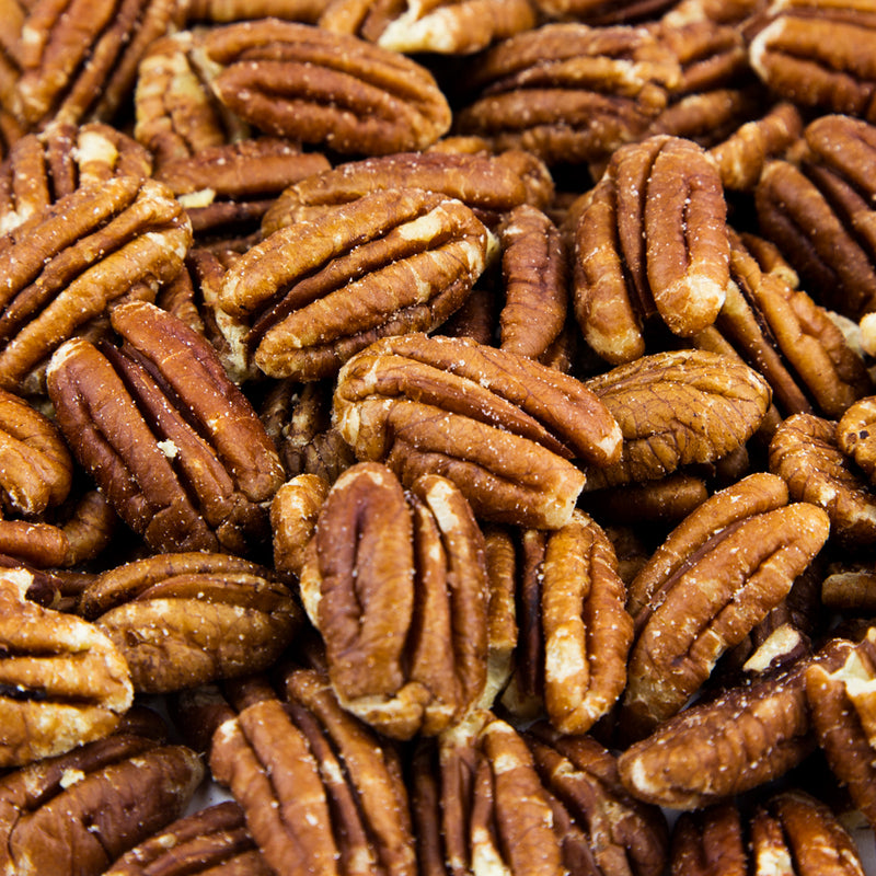 Pecan Halves Roasted, No Salt - 10 LB. Case