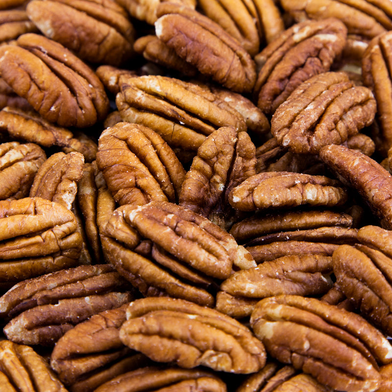Pecan Halves, Raw - 20 LB. Case