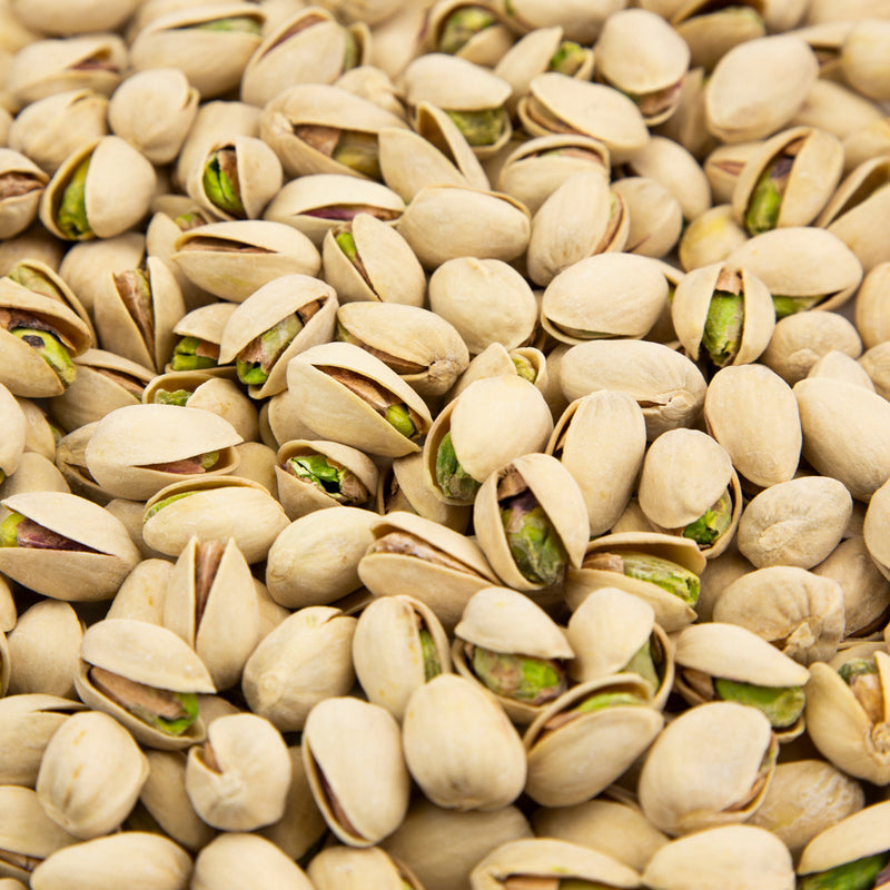 Colossal Pistachios Natural, Dry Roasted & Salted - 10 LB. Case