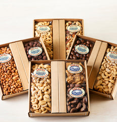 Giant Cashews & Chocolate Almonds 2 Pack Gift Box