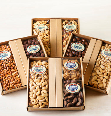 Chocolate Peanuts & Butter Toffee Peanuts 2 Pack Gift Box