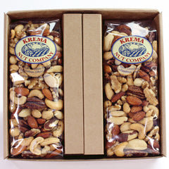 Gourmet Mixed Nuts 2 Pack Gift Box