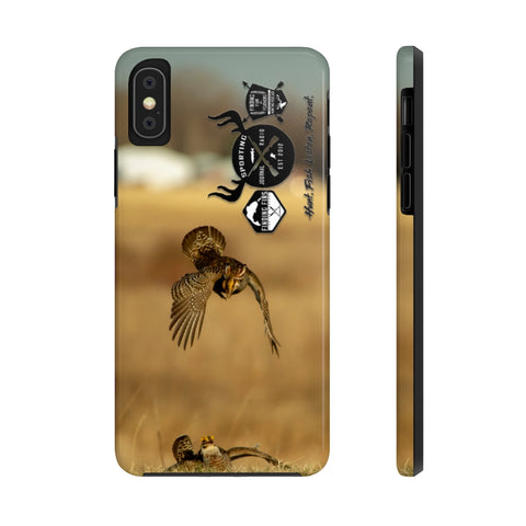 Prairie Chickens - Case Mate Tough Phone Cases
