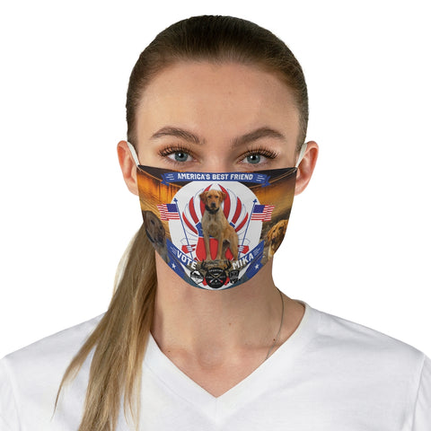 Vote Mika! Fabric Face Mask