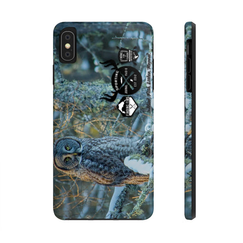 Great Gray Owl - Case Mate Tough Phone Cases