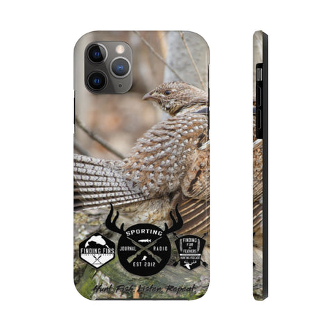 Ruffed Grouse Looking Back - Case Mate Tough Phone Cases