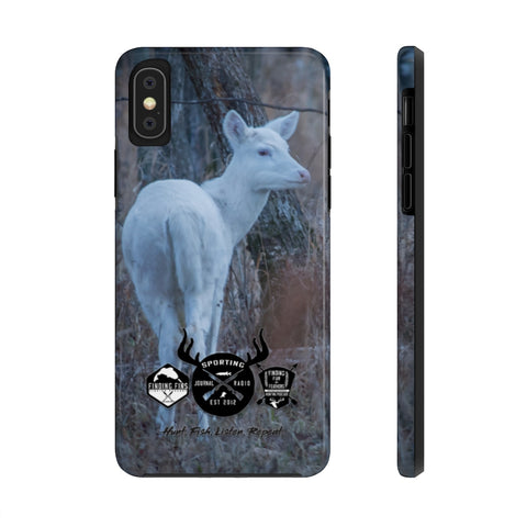 White Deer - Case Mate Tough Phone Cases