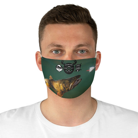 Lake Trout - Fabric Face Mask
