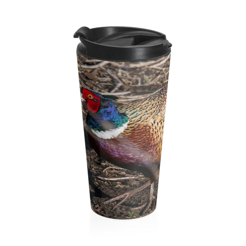 Stainless Steel Travel Mug - Rooster