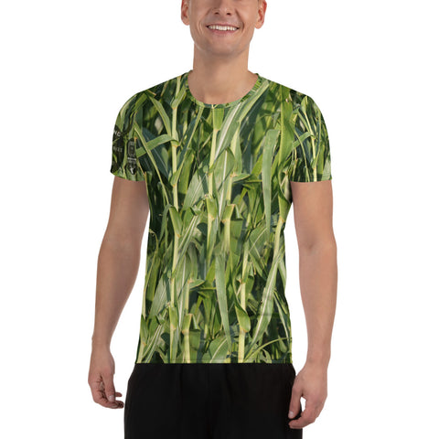 Standing Corn Field - All-Over Print Men's Athletic T-shirt