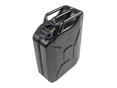 20l Jerry Can - Black Steel Finish