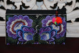 NEW Balinese Embroidered Make-Up Purse / Accessories Bag - MANY COLOURS