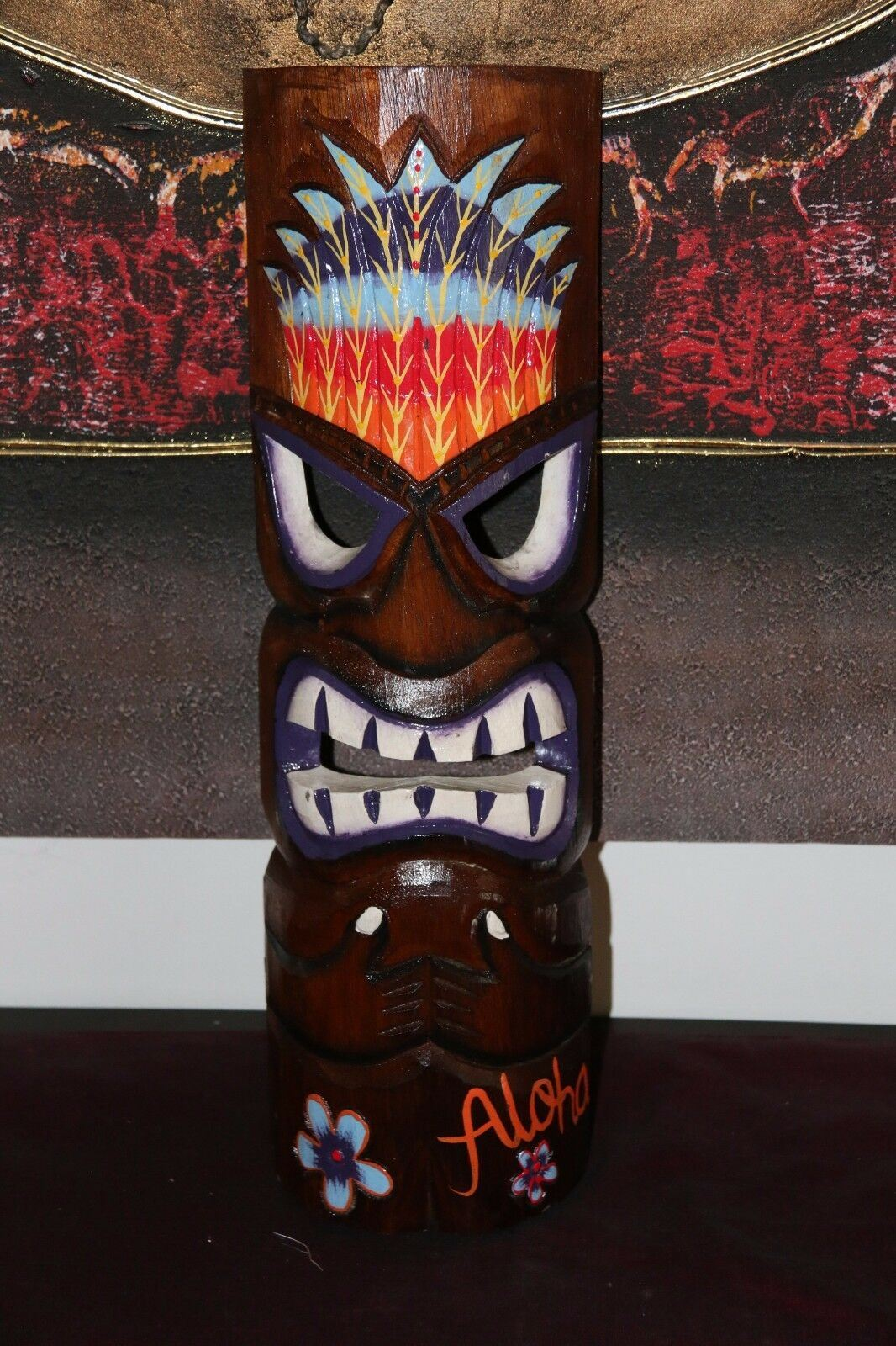 NEW Hand Crafted Tiki Bar / Polynesian Tiki Mask / Totem MANY VARIETIES