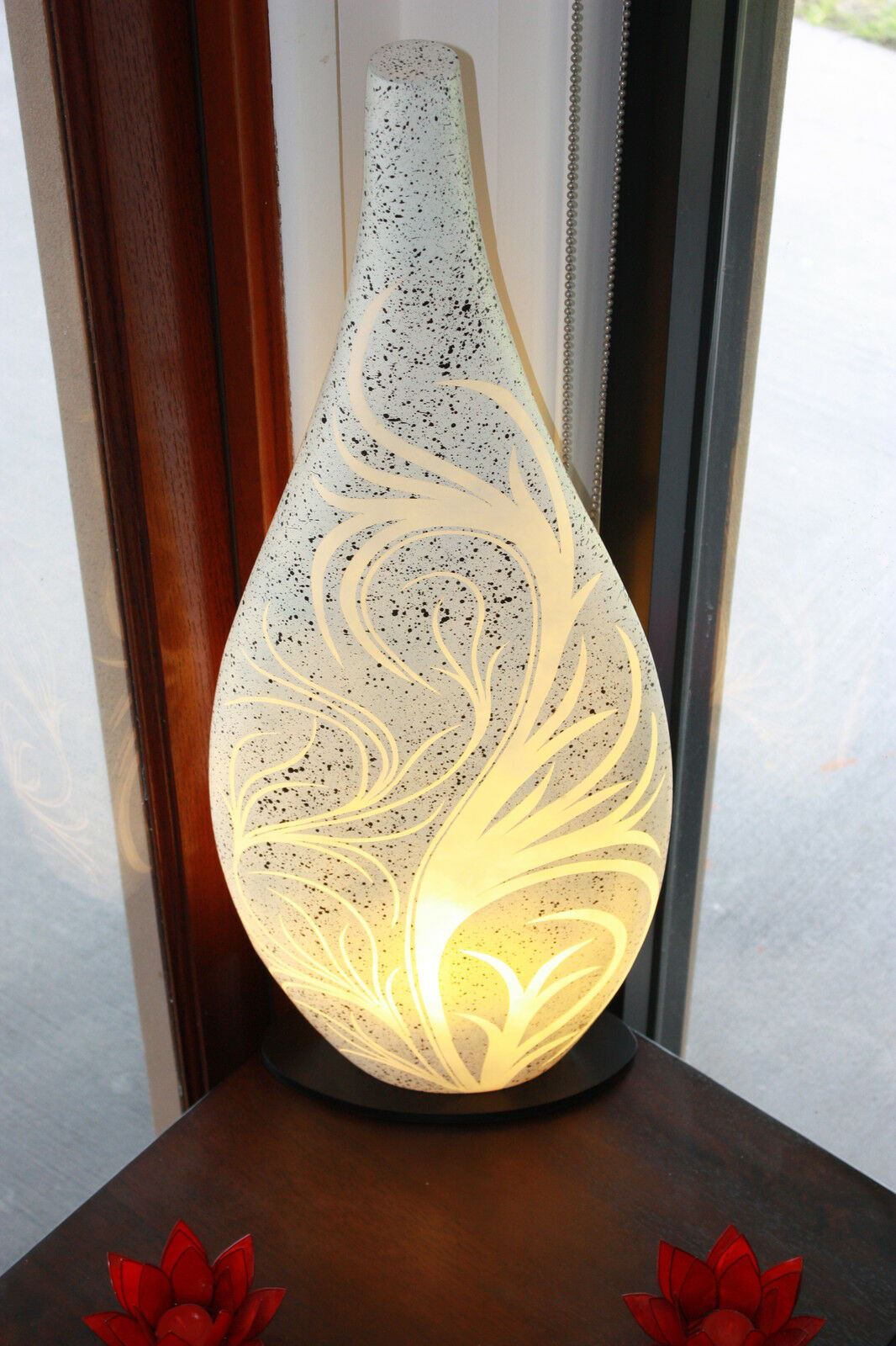 NEW Fibreglass Balinese Feature Lamp - Indoor Bali Feature Lamp MANY COLOURS...