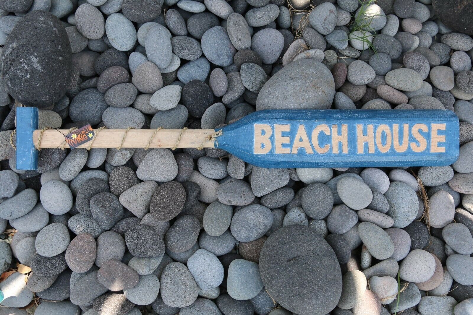 NEW Balinese Hand Crafted BEACH HOUSE Paddle Decor - 3 Colours Available