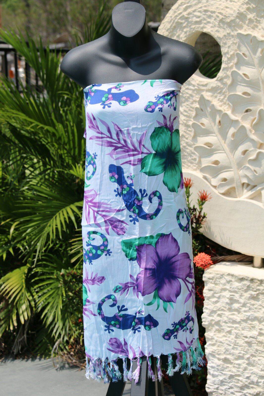Bali Beach Sarong - Summer Beach Sarong - Bikini Cover Up - NEW 2 COLOURS AVAIL.