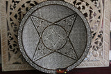 NEW Hand Carved TIMOR Tribal / Primitive Plate or Platter  - BALI BOHO Art