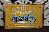 NEW Balinese Hand Crafted Nostalgic Signs - Pressed Metal/Wood Signs FREE POST