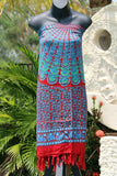 Bali Beach Sarong - Summer Beach Sarong - Bikini Cover Up - 2 COLOURS AVAILABLE