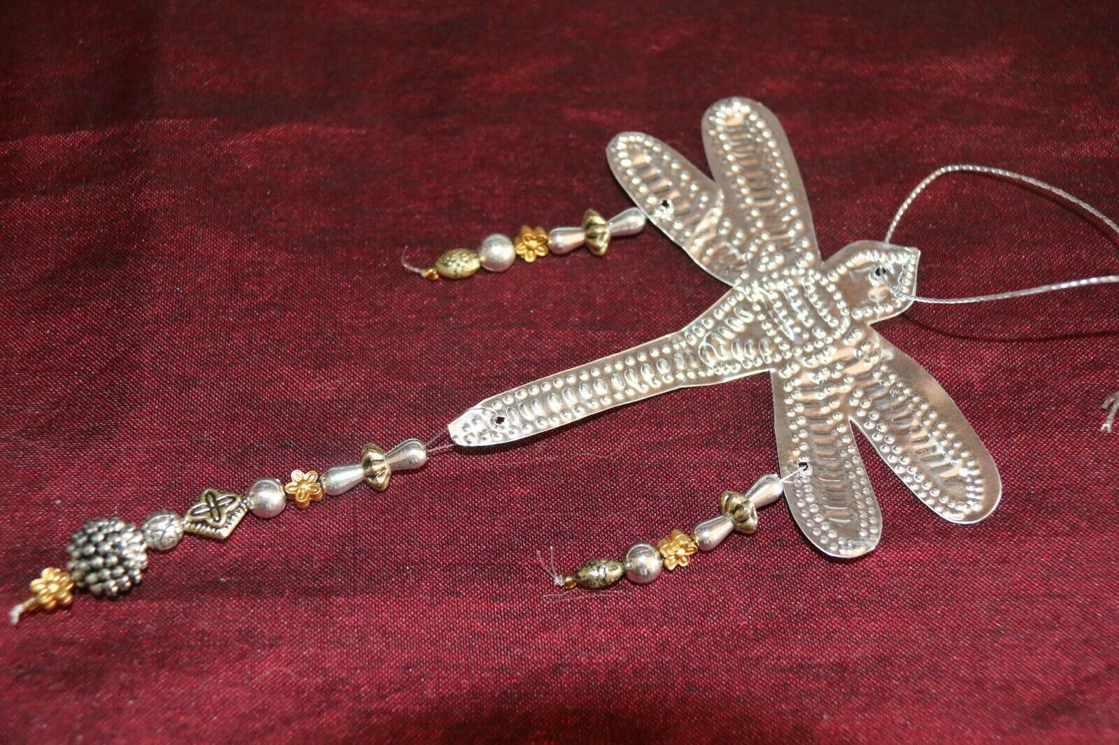 NEW Balinese Hand Crafted Dragonfly Aluminium Hanging Decor - Dragonfly Hanging