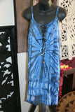 NEW Ladies Cotton Bali Dress / MANY COLOURS / Cool Casual Knee Length Dress