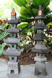 NEW Balinese LAVA Stone (Volcanic Rock) Hand Crafted Pagoda AMAZING!!