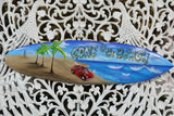 NEW Bali Handmade Air Brushed Surfboard Wall Decor 80cm - Bali Surfboard Wall Ar