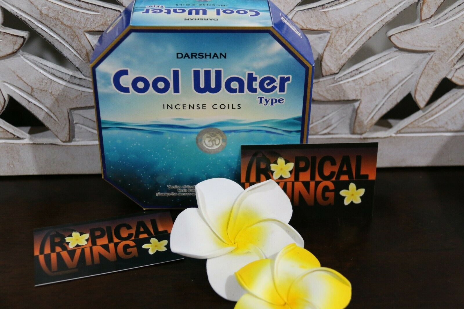 NEW Balinese DARSHAN Incense Coils - Box 10 - 1 Fabulous Fragrances BALI Incense