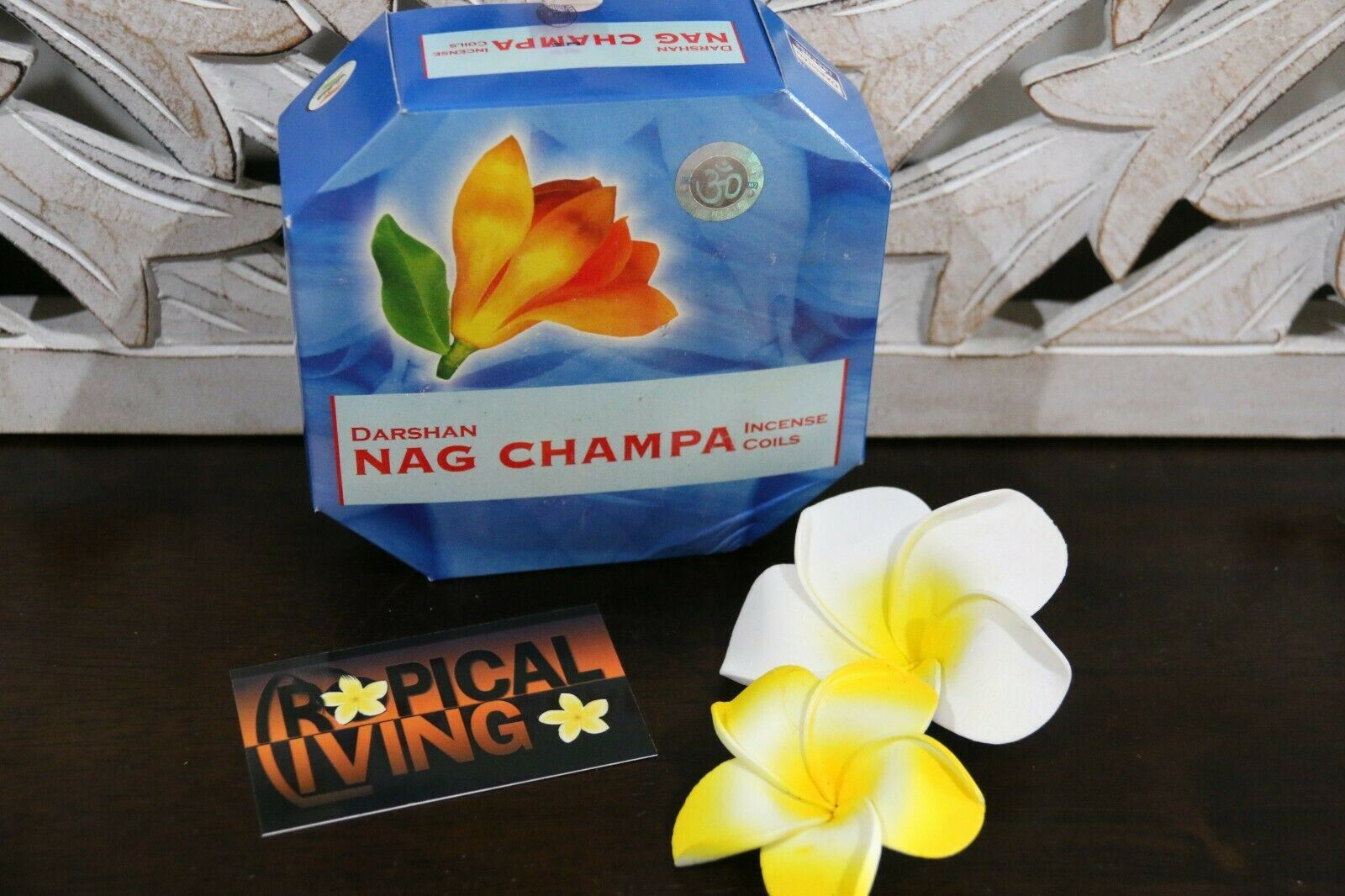 NEW Balinese DARSHAN Incense Coils - Box 10 - 14 Fabulous Fragrances
