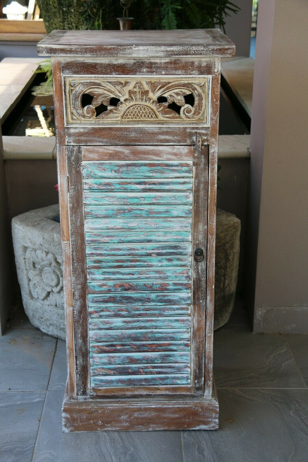 Hand Crafted TEAK Cabinet - Balinese Teak Wood Cabinet - Bali Furniture