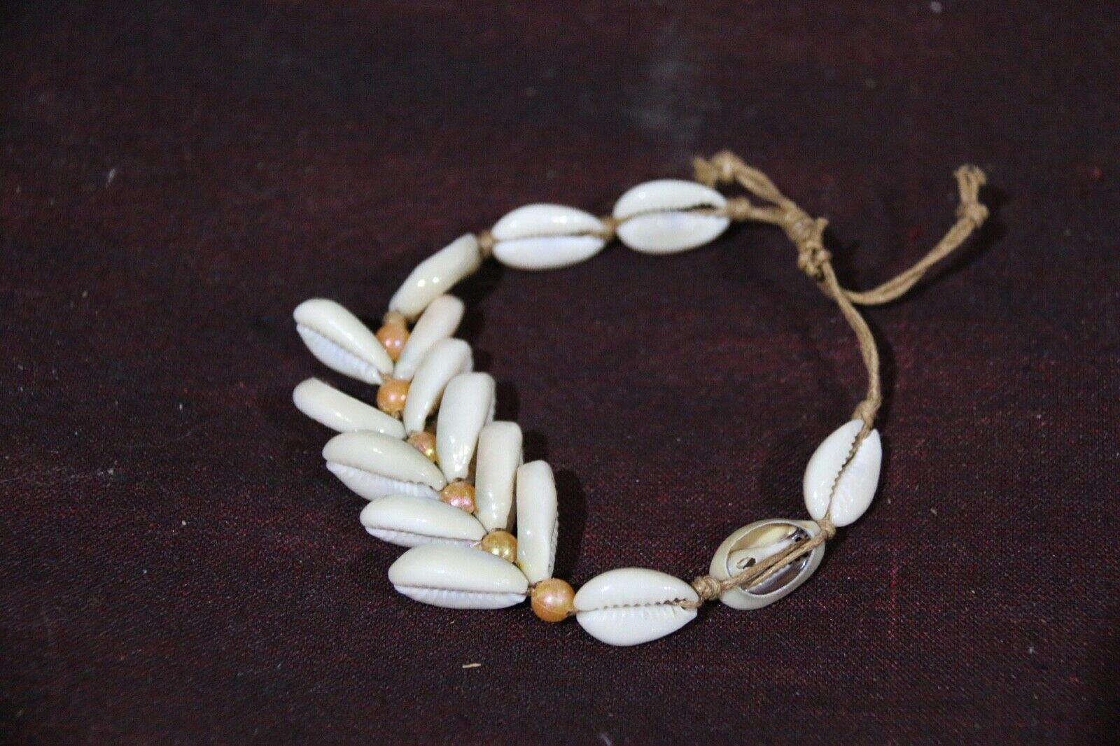 NEW Hand Crafted Shell Bracelet or Anklet - 3 STYLES - Perfect Inexpensive Gift