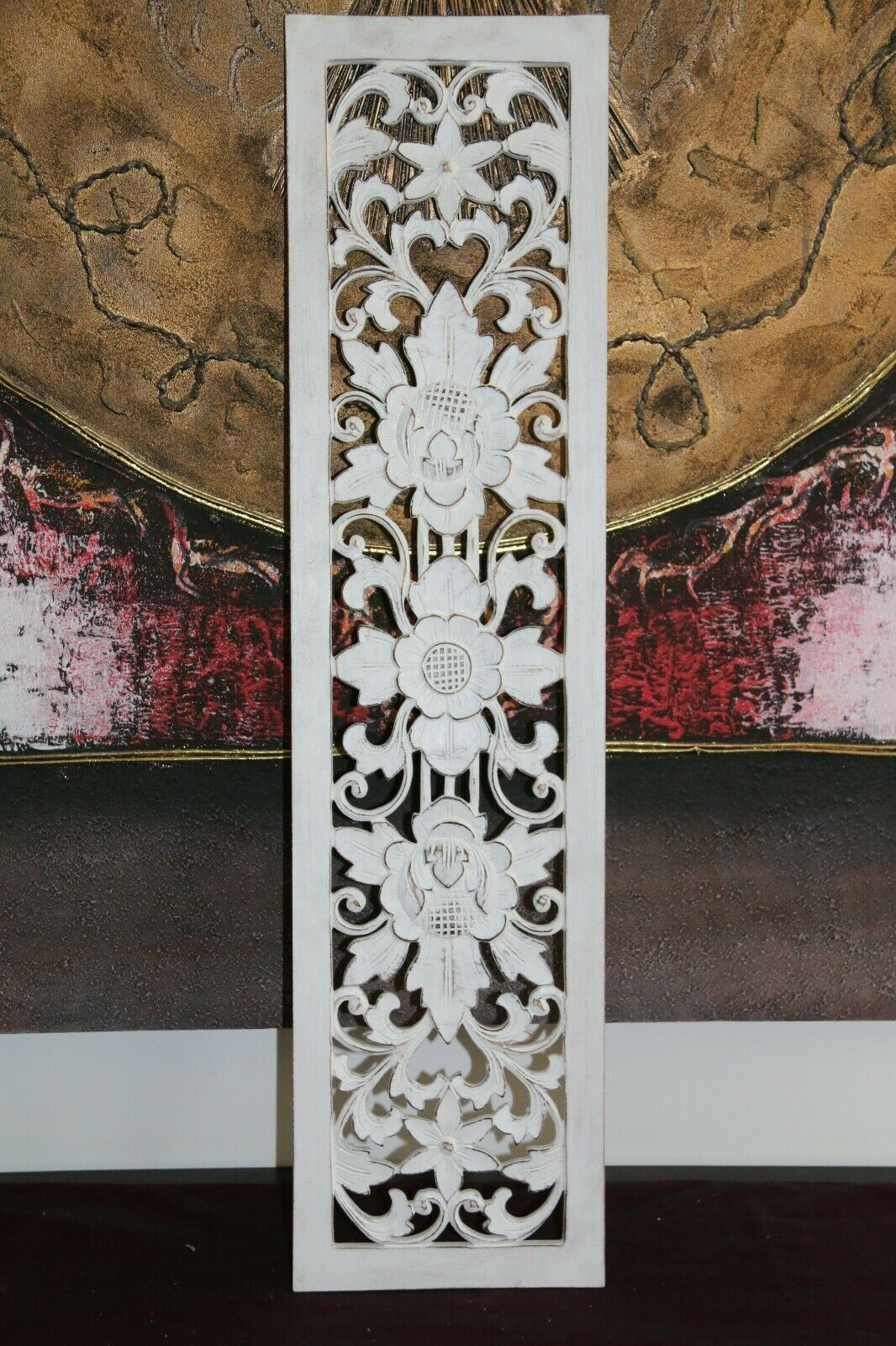 NEW Balinese Carved MDF Mandala / Tropical Wall Panels - Bali Wall Art - 6 Colou