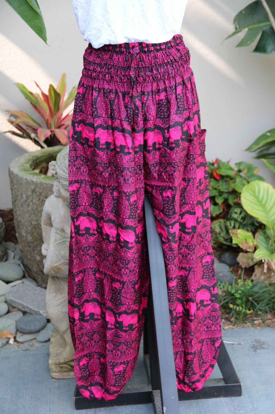 Ladies Bali  Happy, Yoga, Harem, Beach PANTS - Many Colours - ONE SIZE