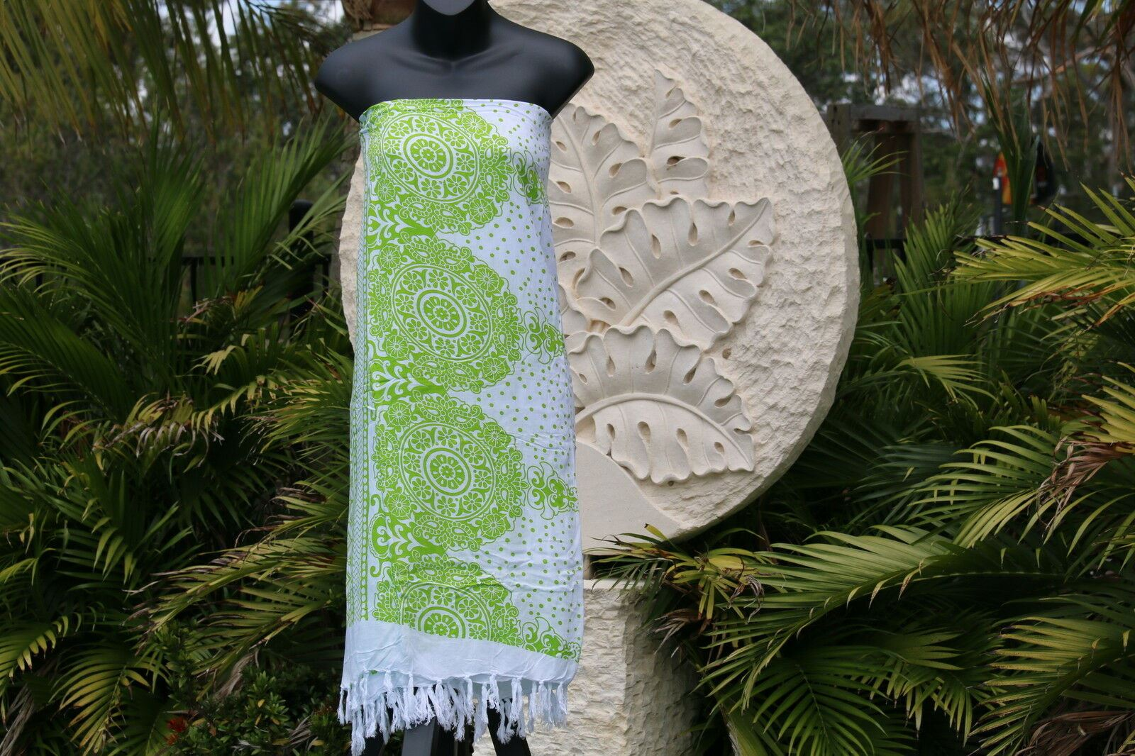 Bali Beach Sarong - Summer Beach Sarong - Bikini Cover Up - NEW 4 COLOURS AVAIL.