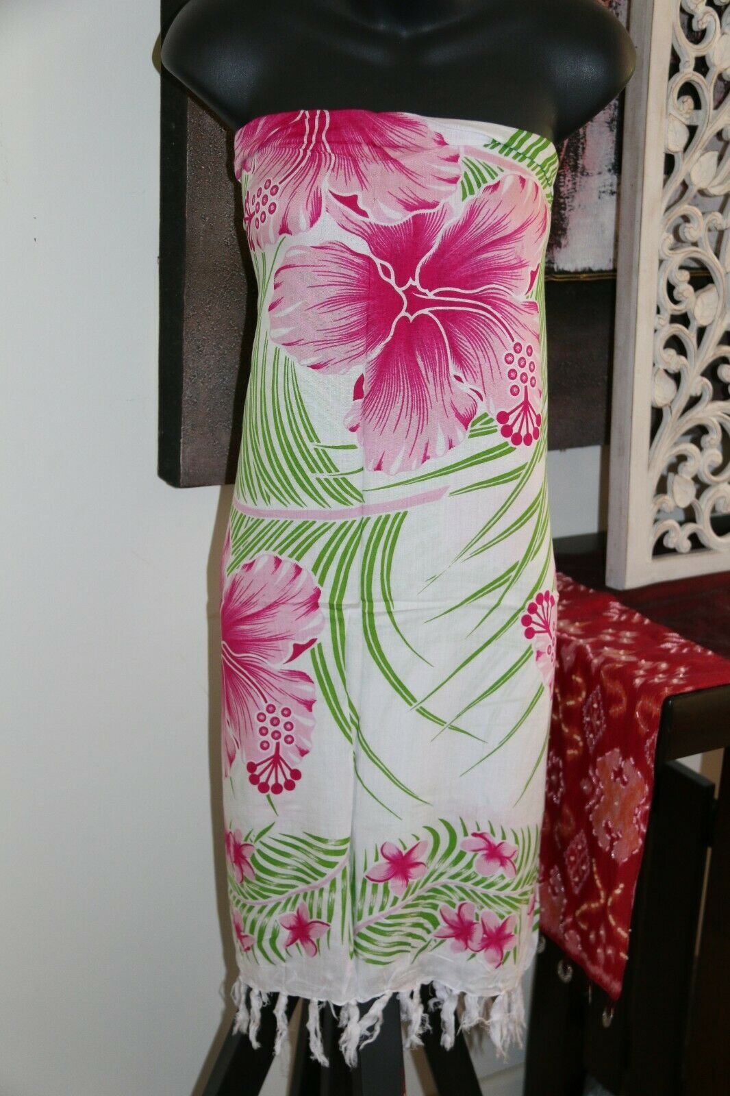 Bali Beach Sarong - Summer Beach Sarong - Bikini Cover Up - 4 COLOURS AVAILABLE