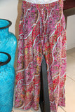 S/M Ladies Bali Casual Pants / Shirred Waist Pants SO COMFY!! / Suit Maternity