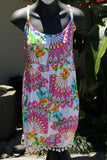 NEW Girls, Ladies Cotton Bali Shortsuit / One Size / Cool Summer Beach Jumpsuit