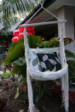 NEW Handmade Balinese MACRAME Hanging Chair - BALI BOHO Style Swinging Chair
