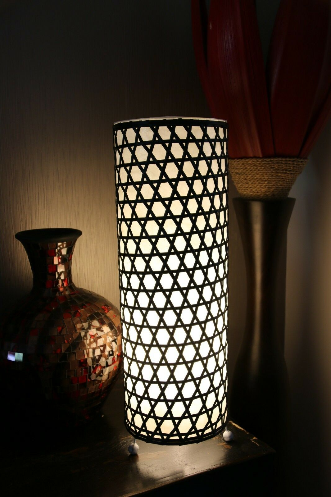 Brand New Synthetic Rattan Balinese Feature Lamp - Indoor Bali Feature Lamp
