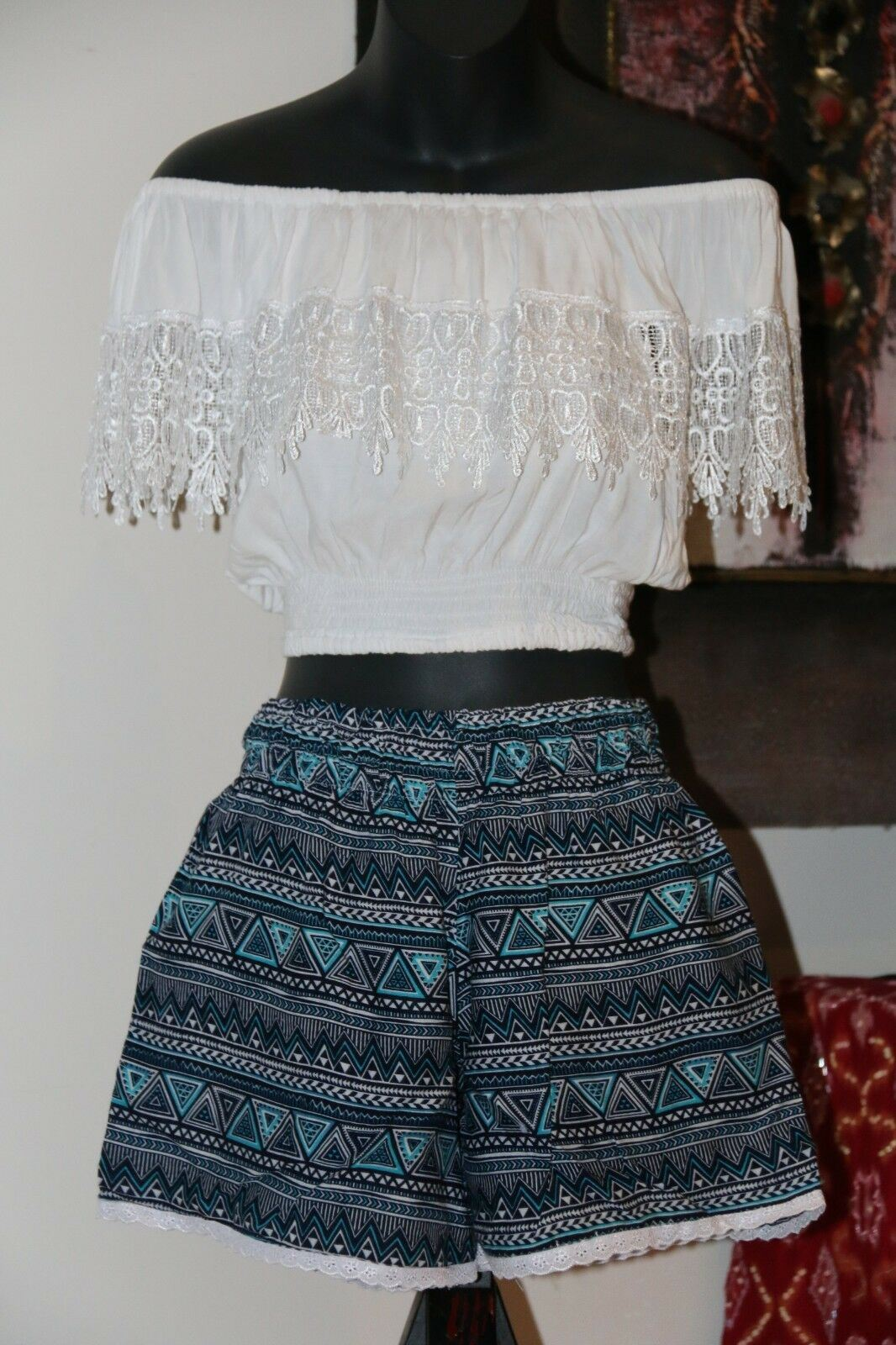 Ladies / Girls Shorts - Cotton Shorts - Bali Beach Shorts - MANY STYLES AVAIL.