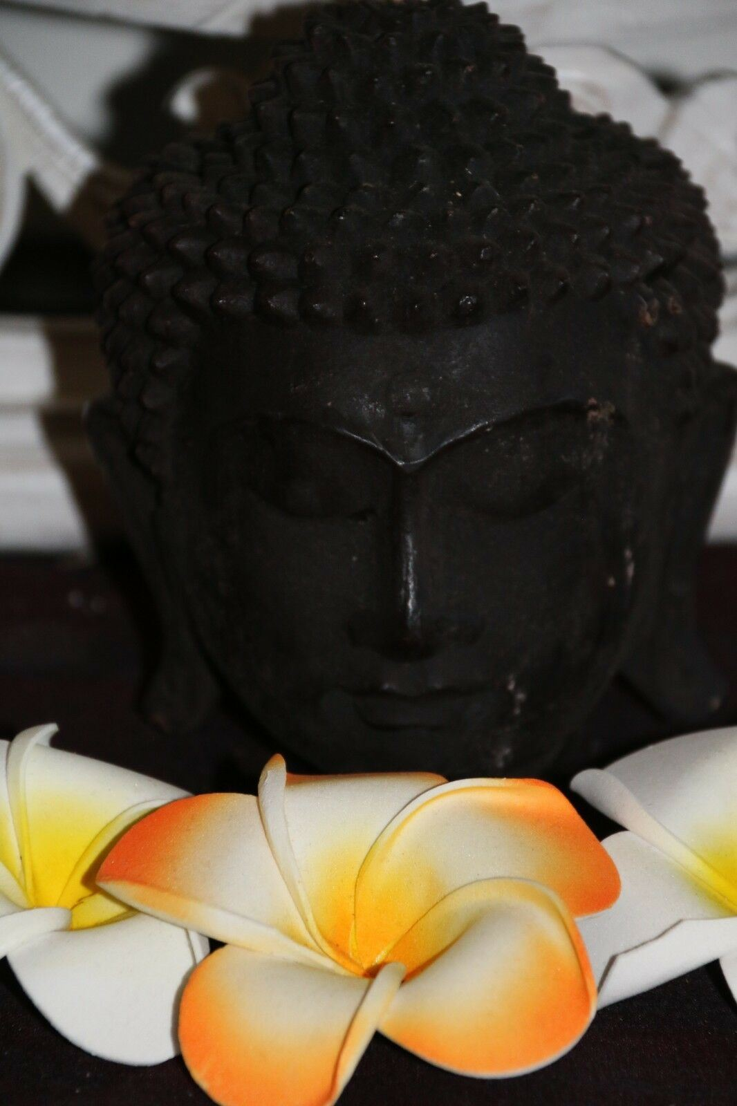NEW Balinese Buddha Head Candle - Bali Inspired Candle PRICE REDUCED!!
