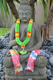 NEW Hand Made Balinese Flower Garland ( Hindu Jai Mala ) X-Large MANY COLOURS