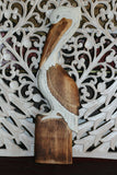 NEW Balinese Hand Crafted Pelican Wall Decor - 3 Colours Available