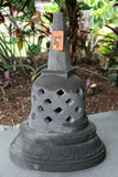 NEW Balinese LAVA Stone (Volcanic Rock) Hand Crafted Stupa AMAZING!!  2 sizes!!