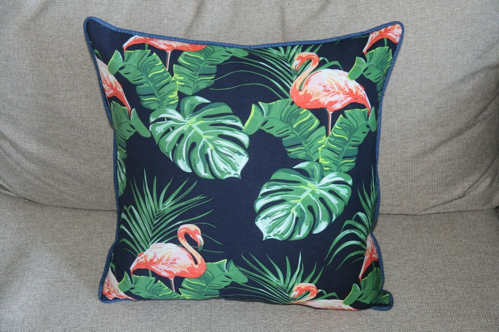 NEW Tropical Cushion Cover 40 x 40cm (Cover ONLY - Insert not included)