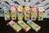 Balinese Hand Made Guest Soap (pack 2) - Bali Fruit & Spice Soap - Asst Fragranc