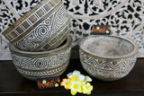 NEW Hand Carved TIMOR Tribal / Primitive Platters & Pots - Various items availab